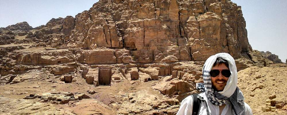 travels with a kilt in petra