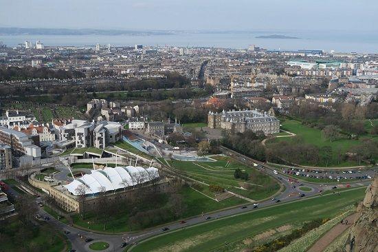 capital of scotland edinburgh arthur's seat.