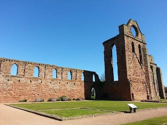 arbroath declaration found within arbroath abbey