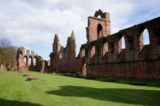 arbroath declaration within arbroath abbey