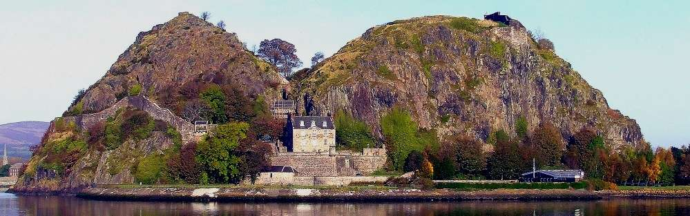 Dumbarton Castle cover