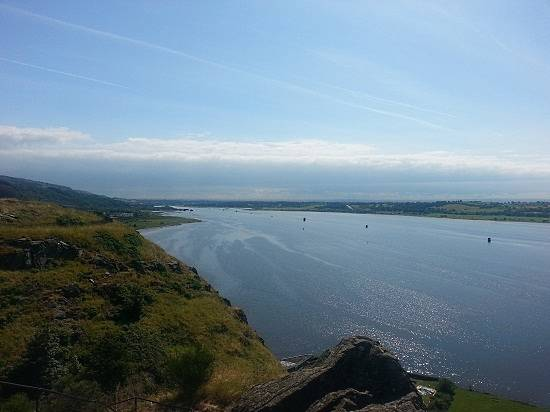 dumbarton castle firth of clyde
