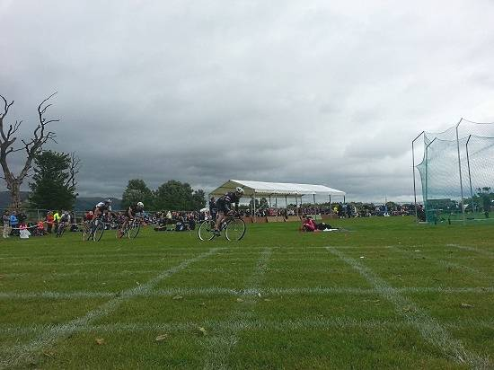 cycling event stirling highland games