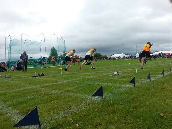 sprint stirling highland games