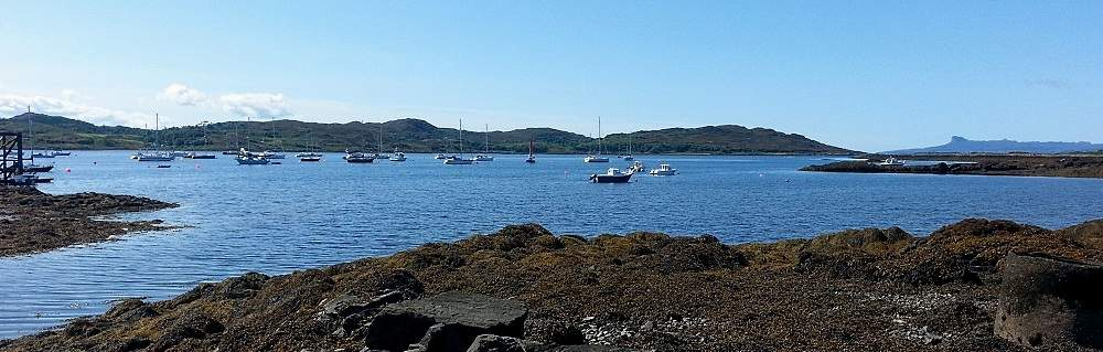 arisaig fishing boats.