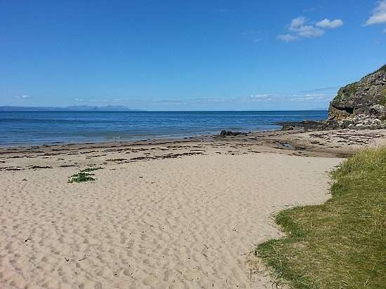beach space at culzean castle and country park