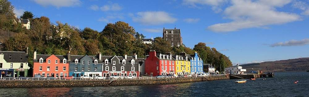 beautiful tobermory on mull