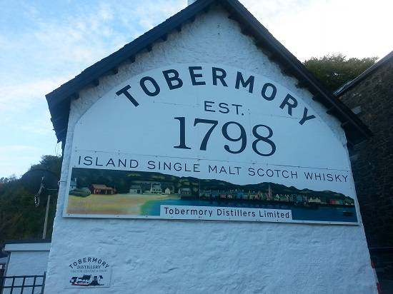 things to do on the isle of mull distillery.