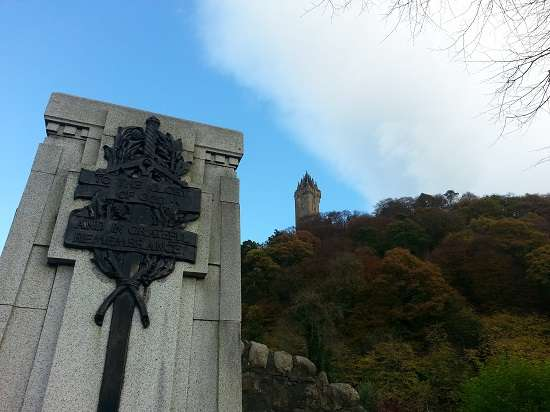 wallace monument scottish independence tour.