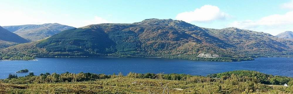 duncryne hill and loch lomond