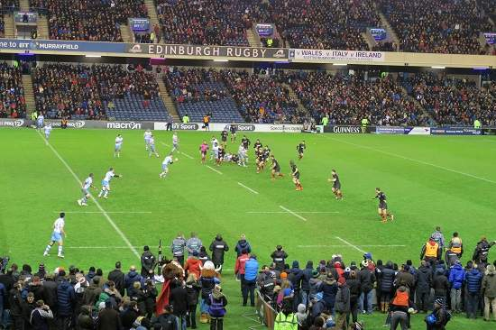 second half 1872 cup. murrayfield stadium blog.