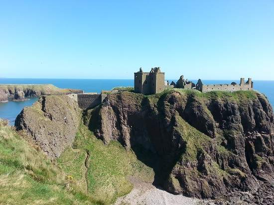 top 10 scottish castles dunnottar.