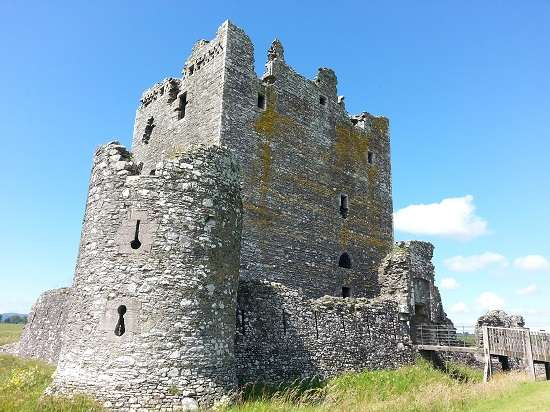 top 10 scottish castles threave.