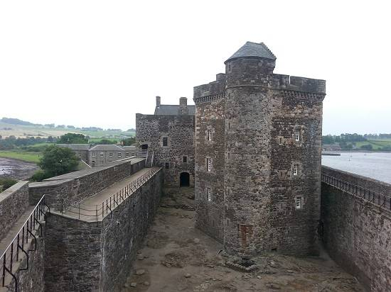 blackness castle outlander