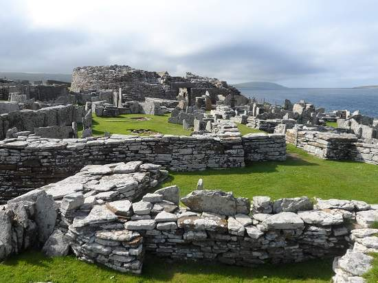 broch of gurness orkney