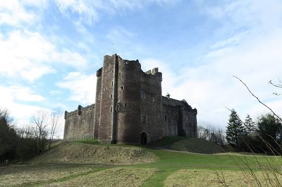 outlander itinerary map castle leoch.