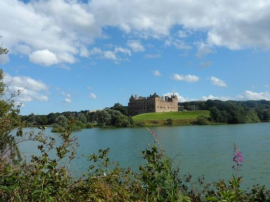 outlander itinerary map linlithgow palace.