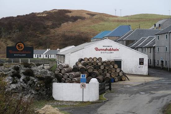 bunnahabhin scottish routes islay whisky tour review.