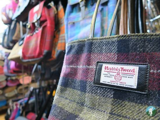 harris tweed blog isle of harris bags.
