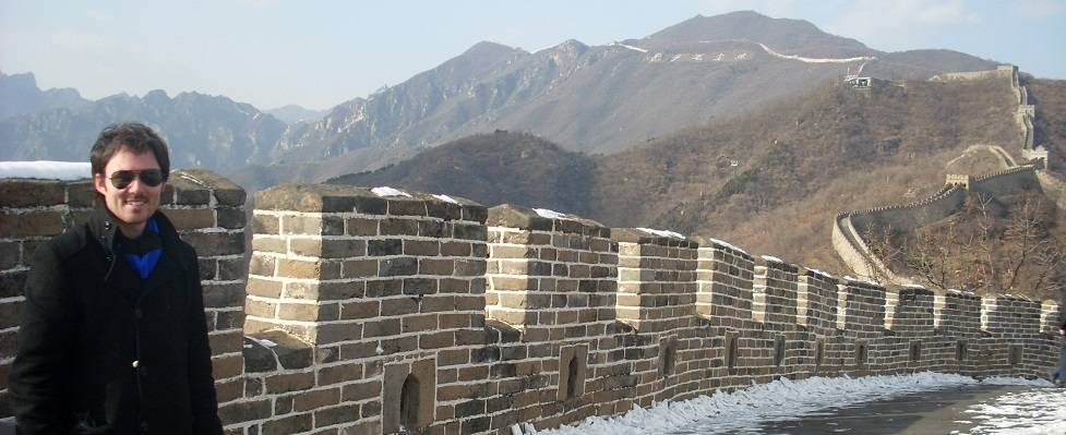 travels with a kilt great wall china