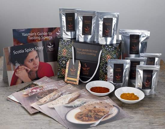 scotia spice curry packs.