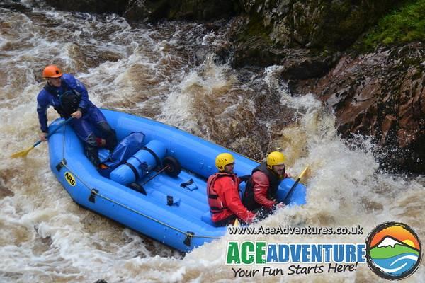 ace adventures review rapids.