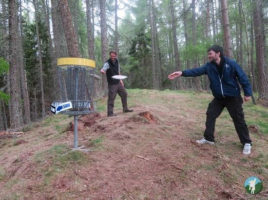 disk golf ace adventures review.
