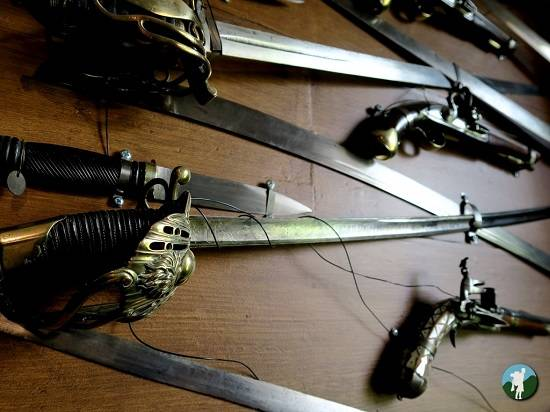 imperial guard sabre Abbotsford House review.