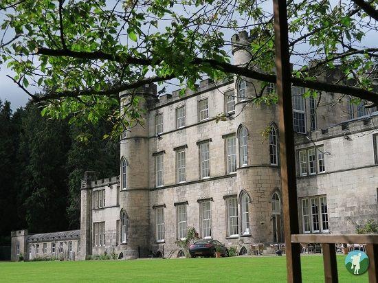 Melville Castle rear