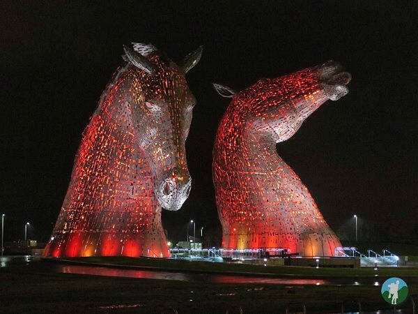 visit falkirk red kelpies