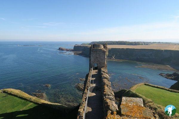 tantallon castle views