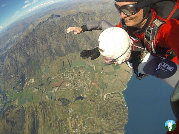 highlights 3 weeks new zealand skydive