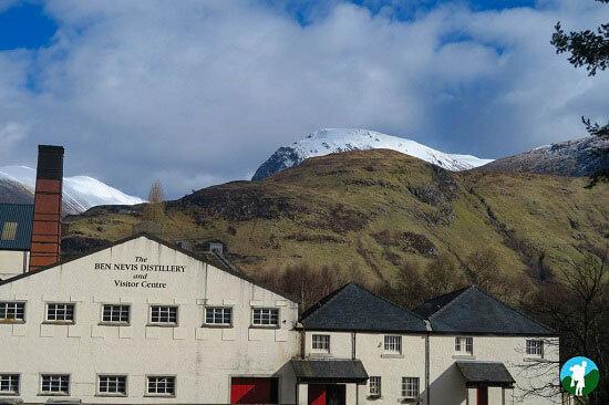 scottish highland road trips ben nevis distillery