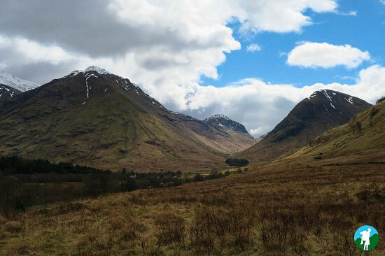 glencoe visitor centre view