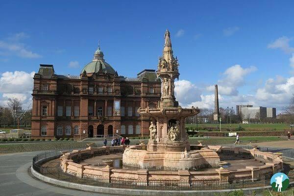 terracotta fountain glasgow palace