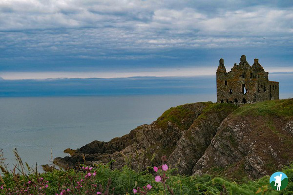 dunskey castle west coast history dumfries and galloway