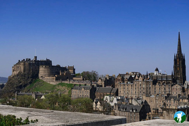 edinburgh castle scotland photo blog