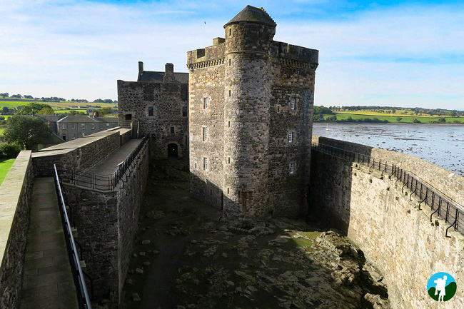 blackness castle filming location fort william