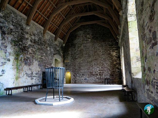 doune castle hall outlander