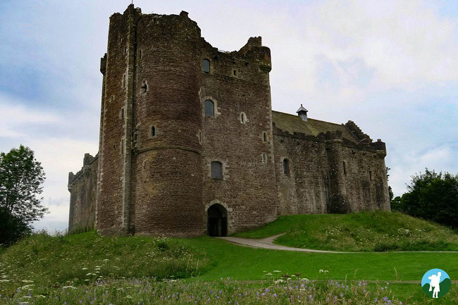 castle leoch outlander doune filming