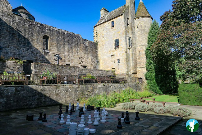 things to do in falkland palace chess