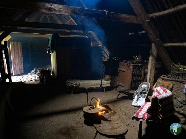 highland folk museum peat fire outlander
