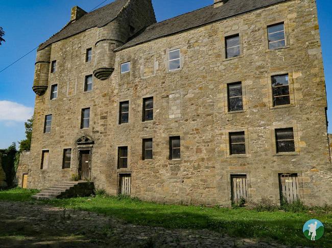derelict midhope castle lallybroch outlander