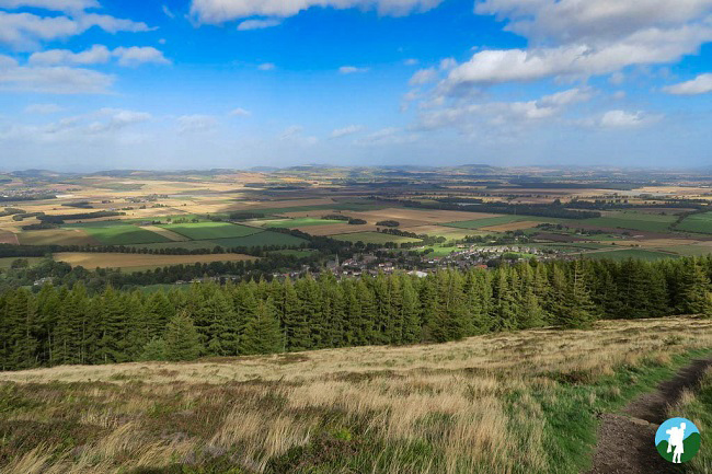 views over Fife from east lomond
