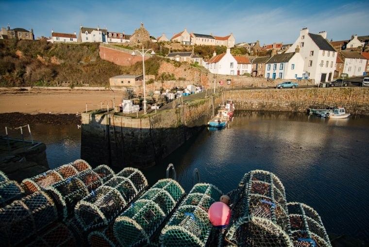 crail harbour east neuk fife