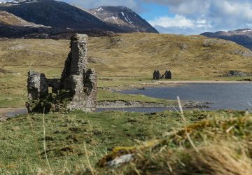 north coast 500 ardvreck castle itinerary