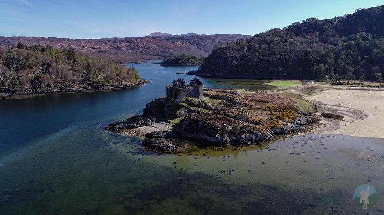 living in the scottish highlands castles