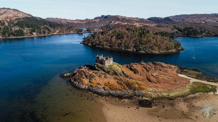 castle tioram staycation scotland