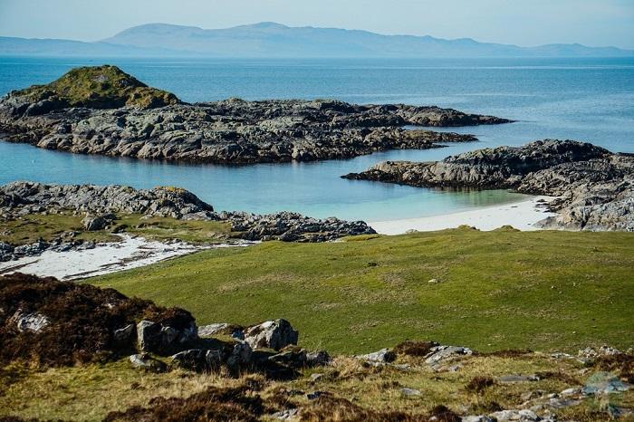 rhu road arisaig beach scotland staycation